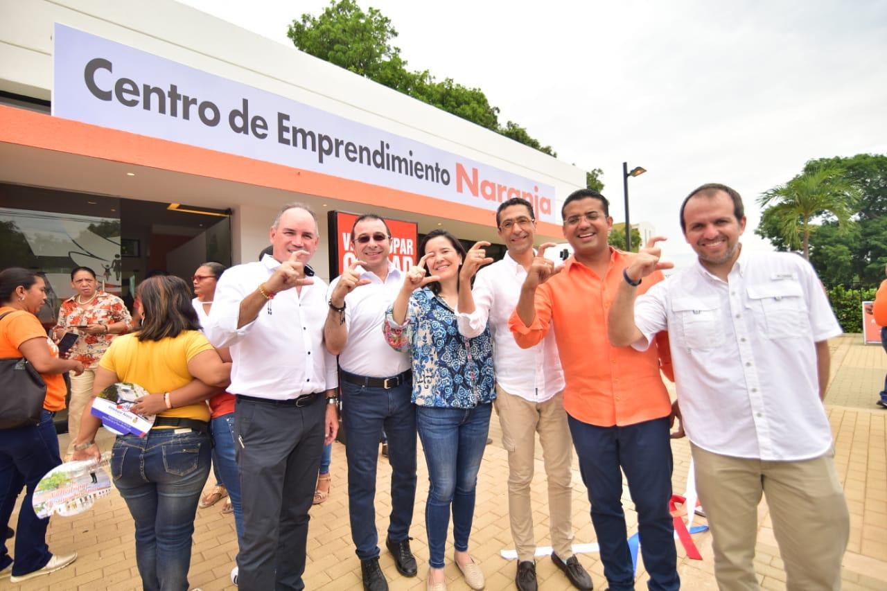 En Valledupar se inauguró el primer Centro de Emprendimiento Naranja del Caribe colombiano