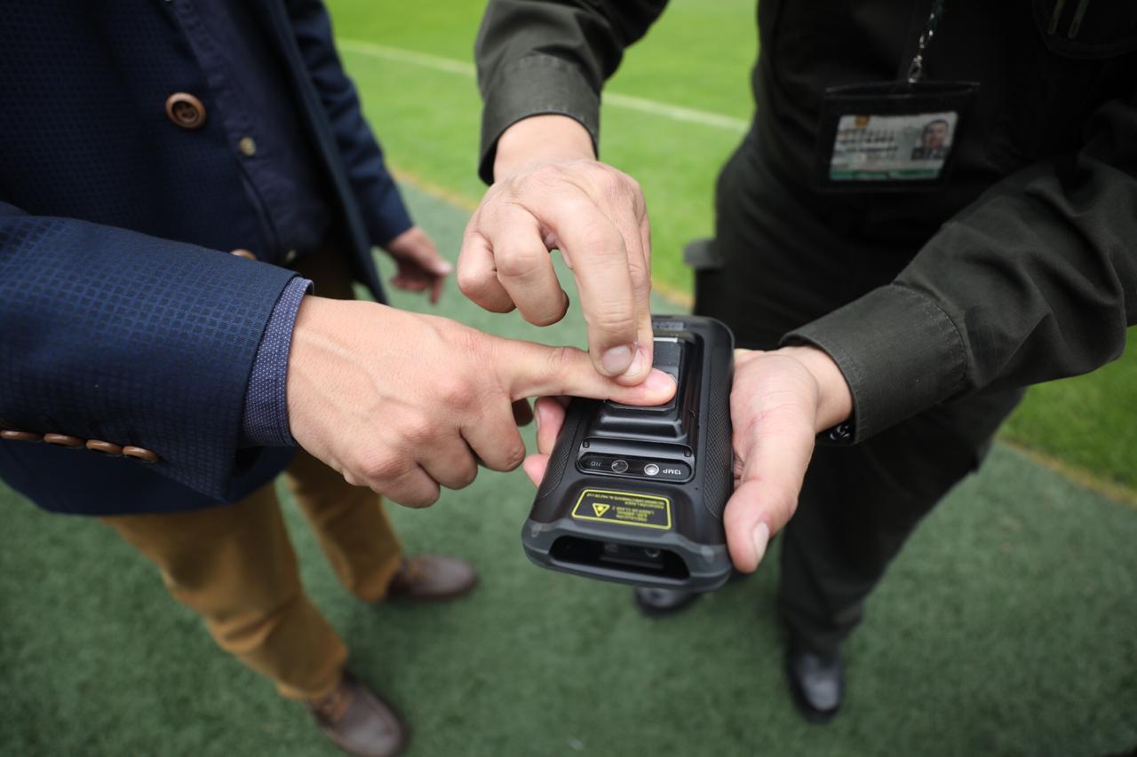 Control biométrico para ingresar al Campín