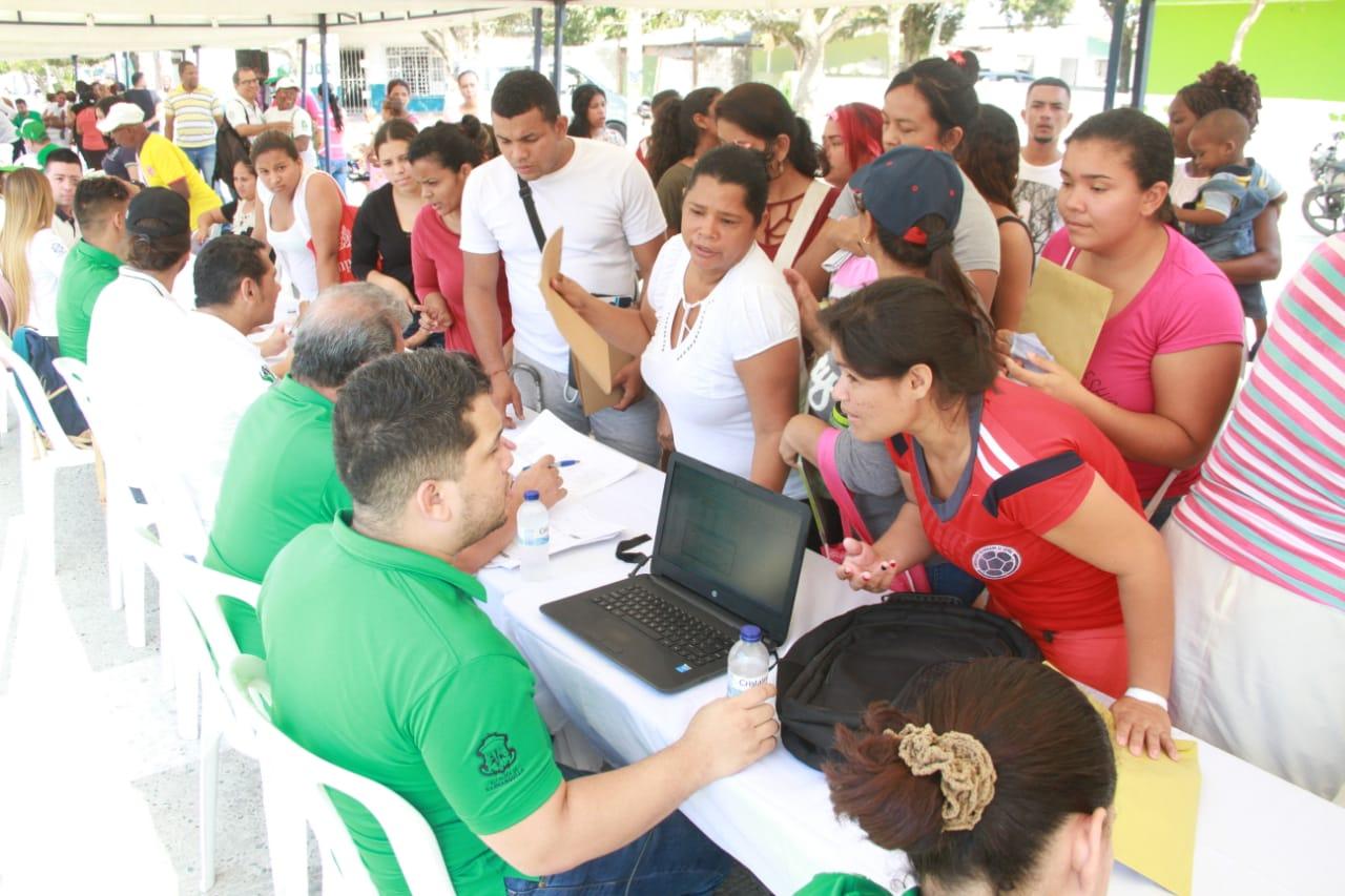 Barranquilla Convive llegó a La Manga con atención integral para la comunidad