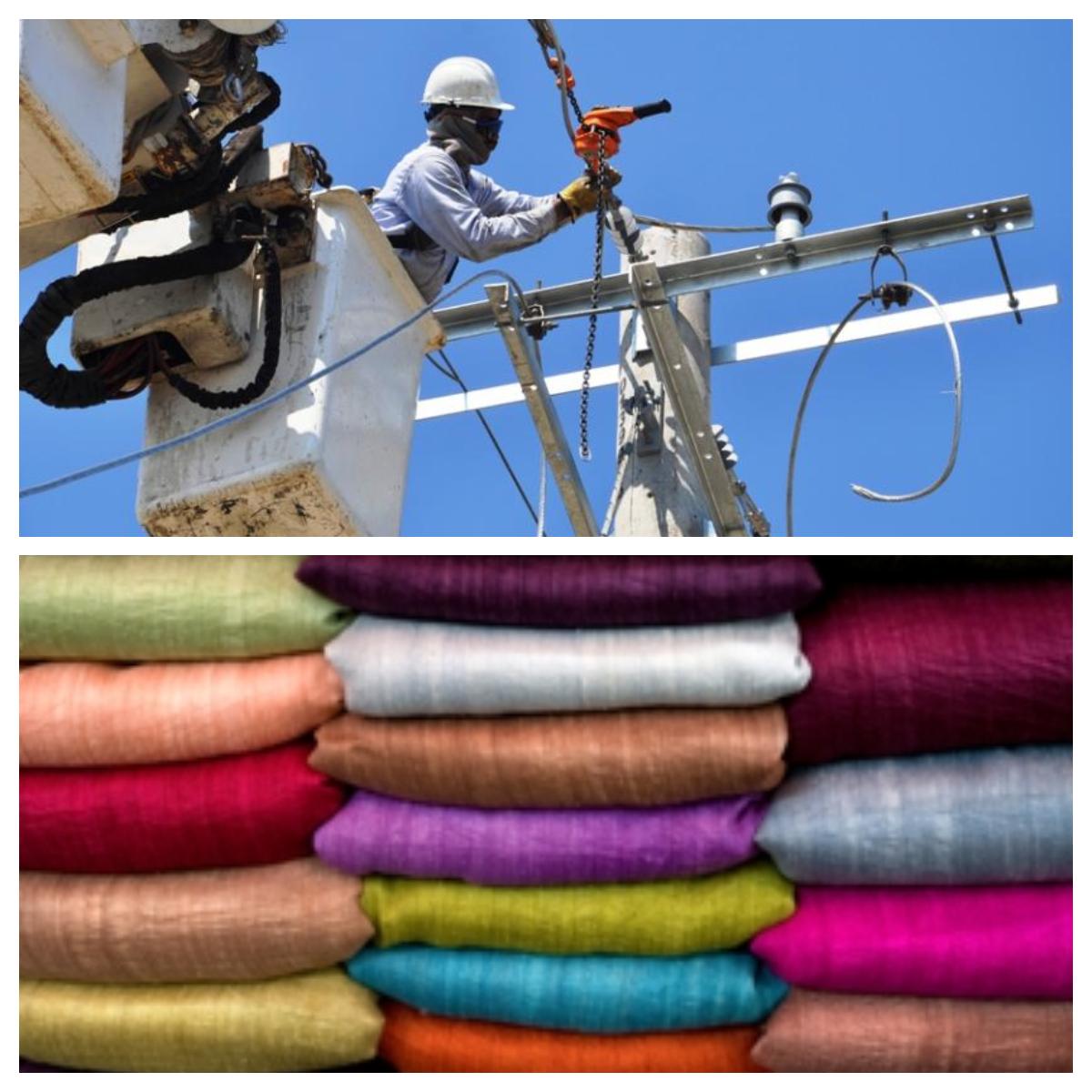 Sobre costos en energía y sector textil por Plan Nacional de Desarrollo