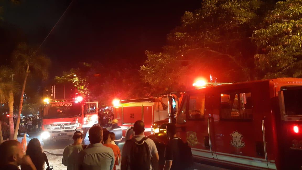 Incendio en el Sector administrativo de la Universidad Autónoma del Caribe fue controlado