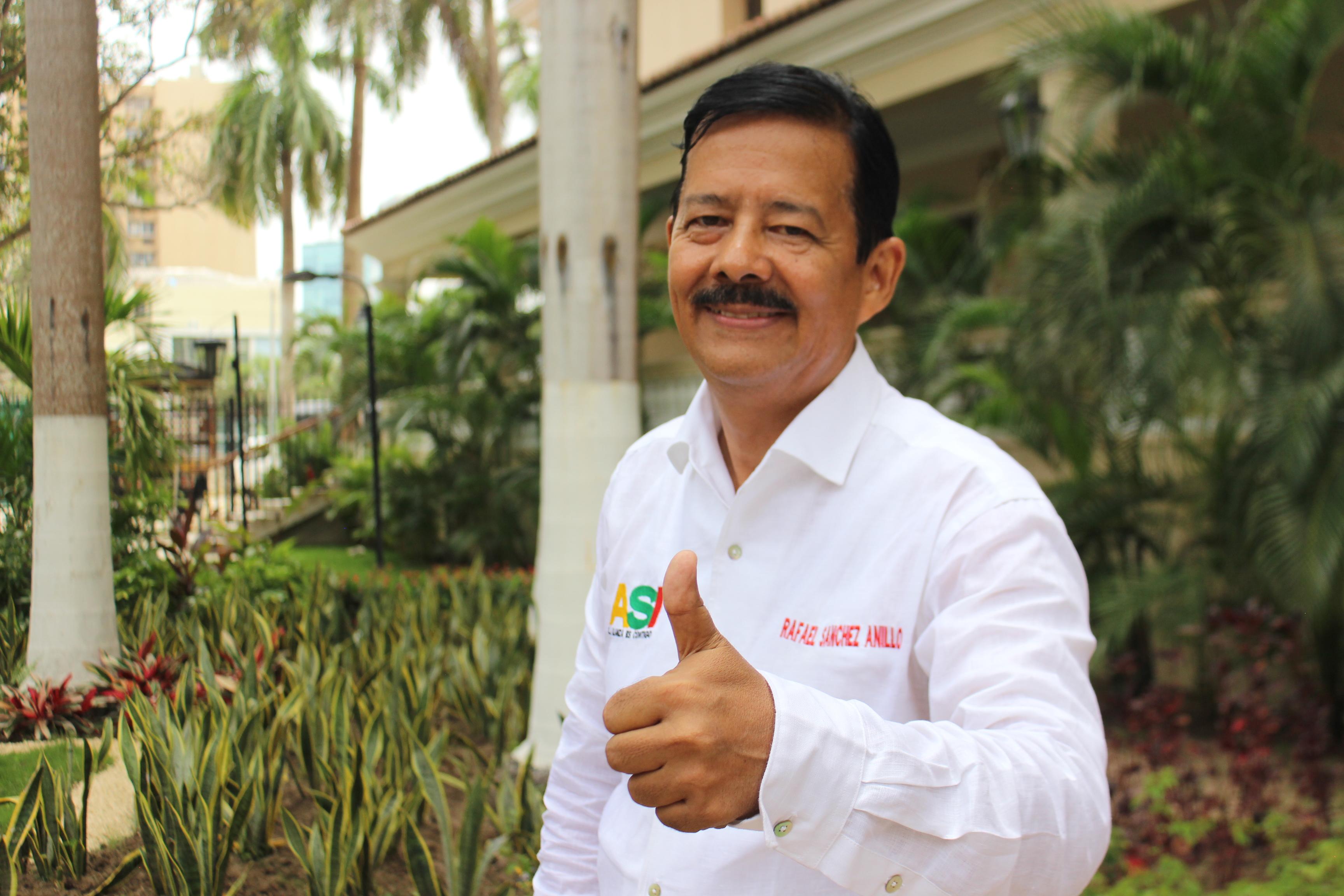 Rafael Sánchez Anillo oficializó su candidatura a la Alcaldía de Barranquilla