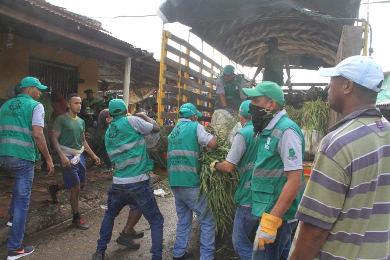 Intervención en sector de Barranquillita: un entorno más limpio para mayor seguridad