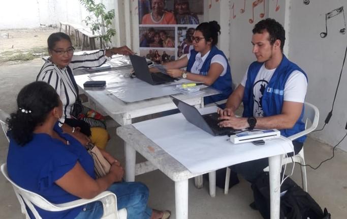 Jornadas móviles para víctimas en municipios de Atlántico