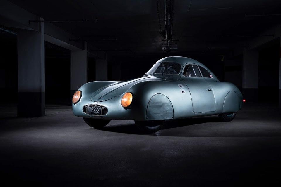 El primer modelo de Porsche será subastado