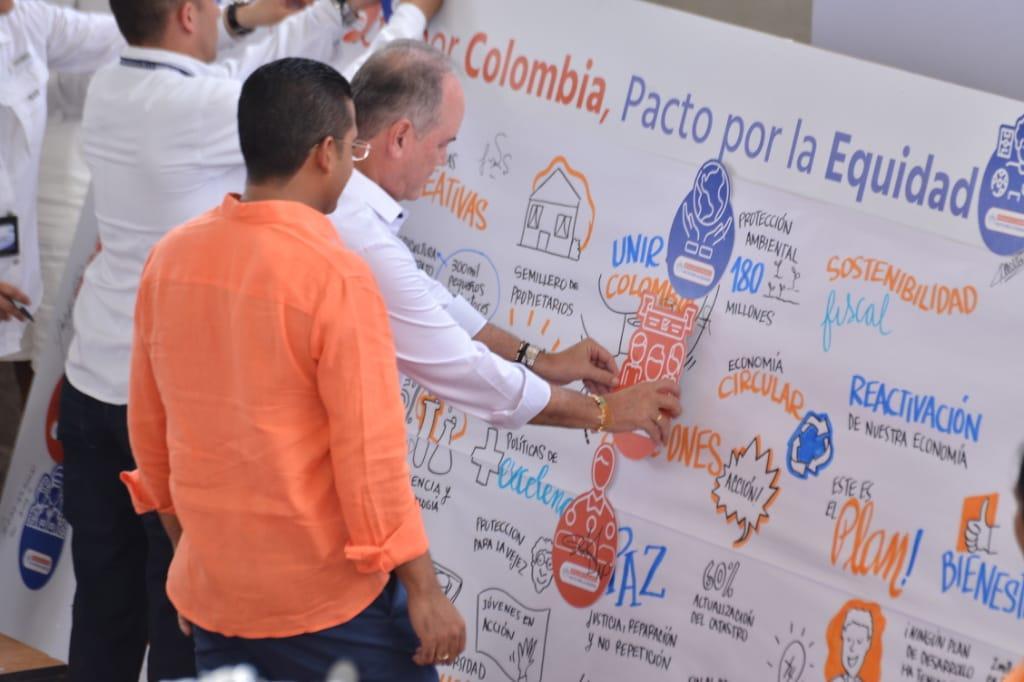 La capital del Cesar fue epicentro de la sanción del Plan Nacional de Desarrollo 2018-2022
