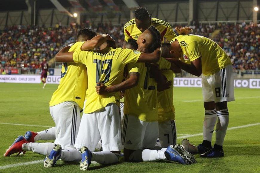 La Selección Colombia Sub 20 rumbo al mundial