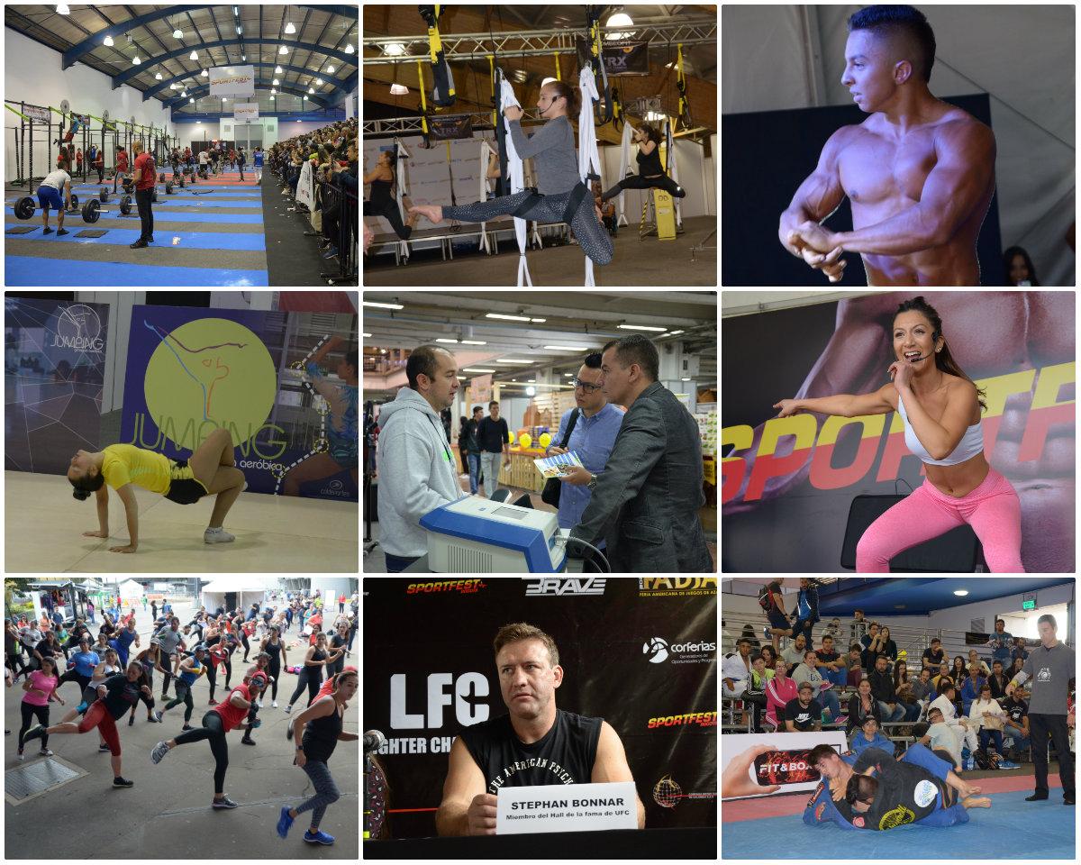 Sportfest, primera feria deportiva, de cultura fitness y vida saludable, reunió más de 17.000 visitantes