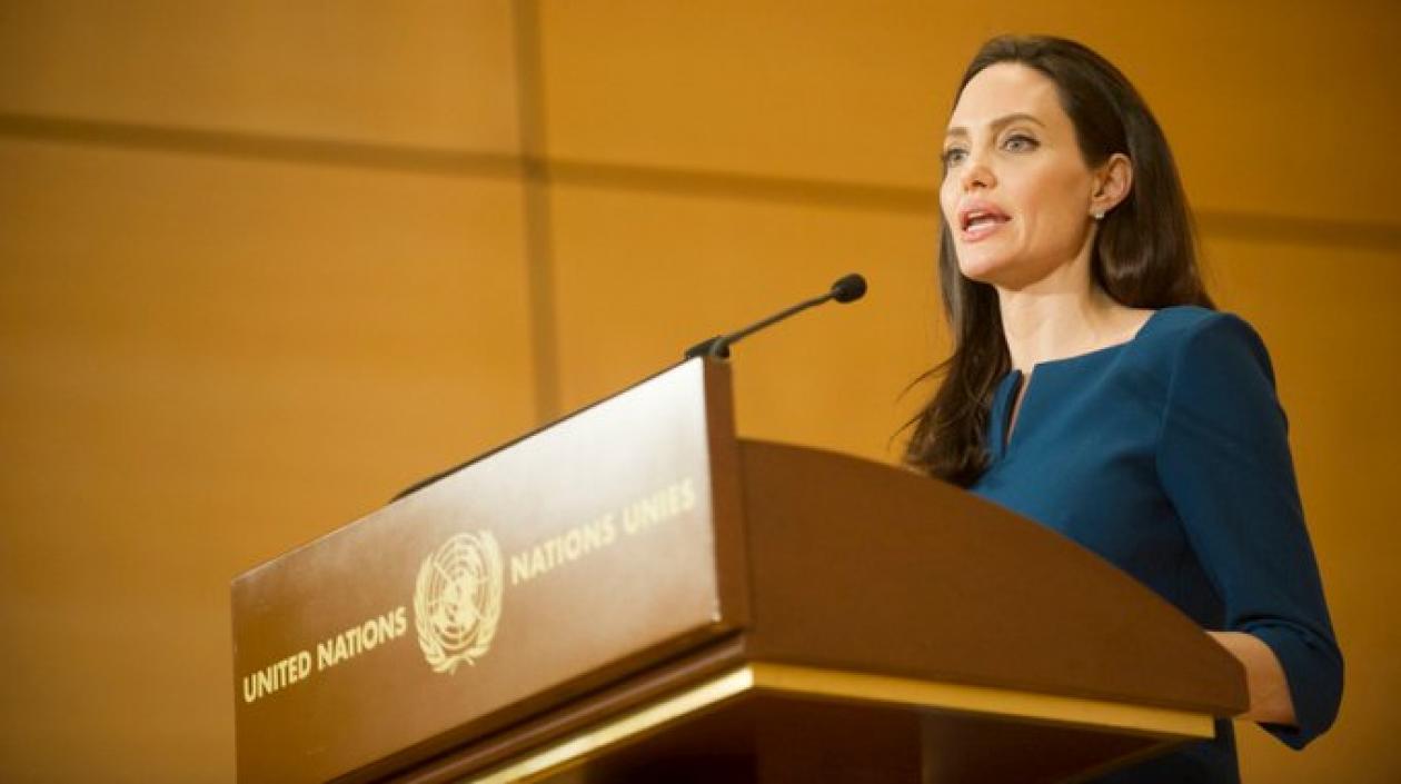 Visita de Angelina Jolie en La Guajira por parte de ACNUR