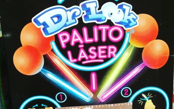 """La SIC prohibe chupete de caramelo """"Dr. Look Palito Láser"""""""