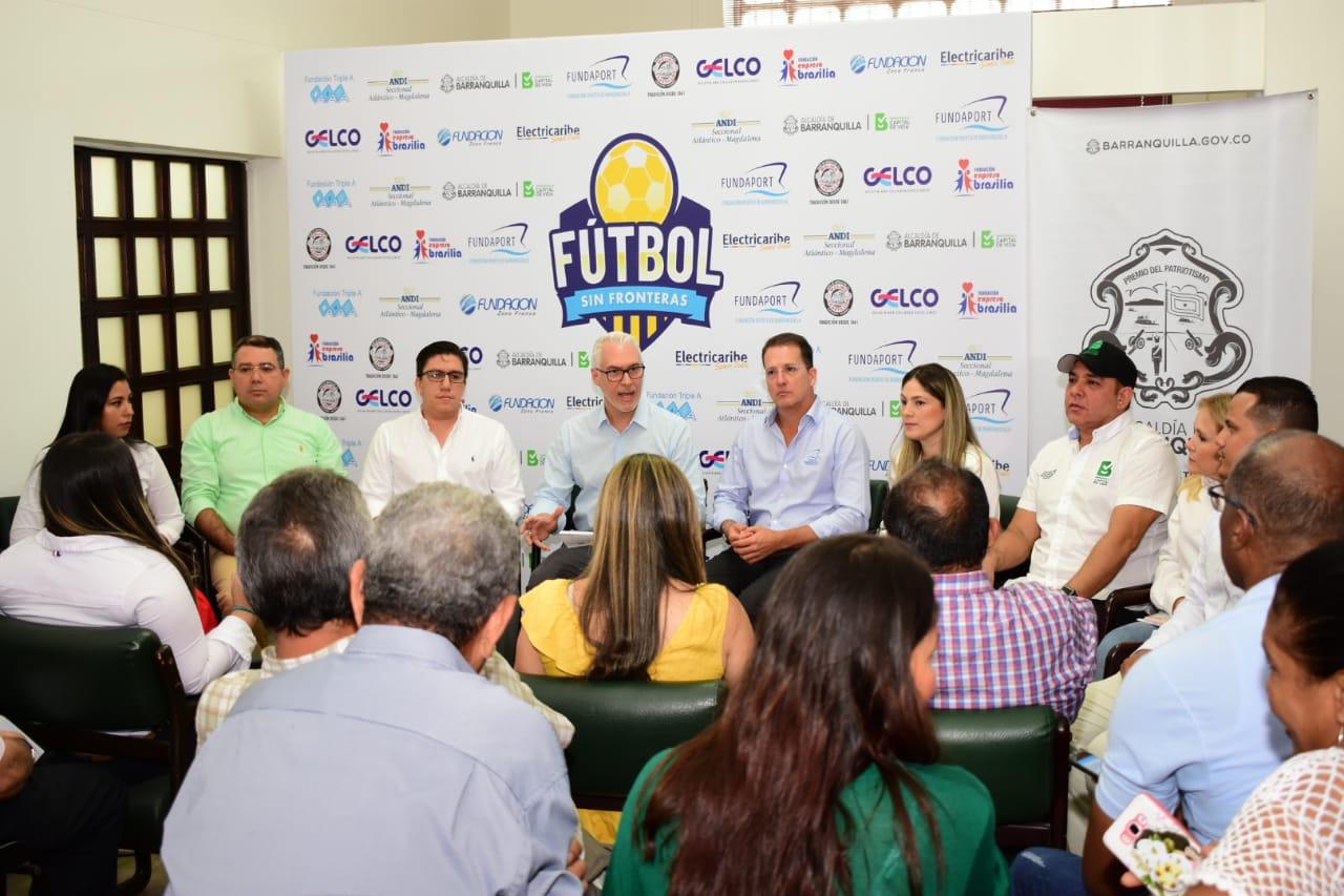 Electricaribe se unió al festival  deportivo 'Fútbol sin Fronteras'