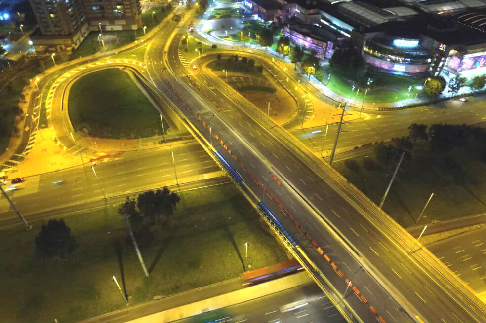 En funcionamiento el puente vehicular de la calle 183 con Autopista Norte en Bogotá