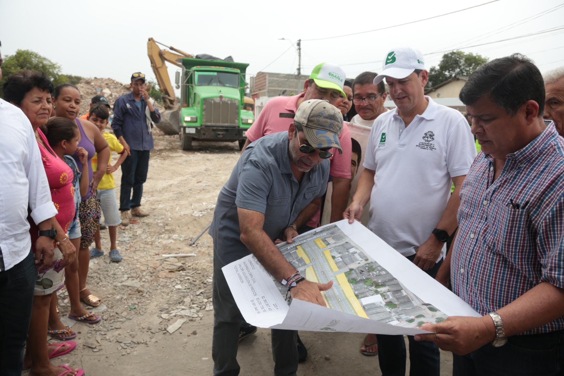 """""""Ya empezamos los trabajos para conectar Murillo con la calle 30 a través de la carrera 4"""": alcalde Char"""