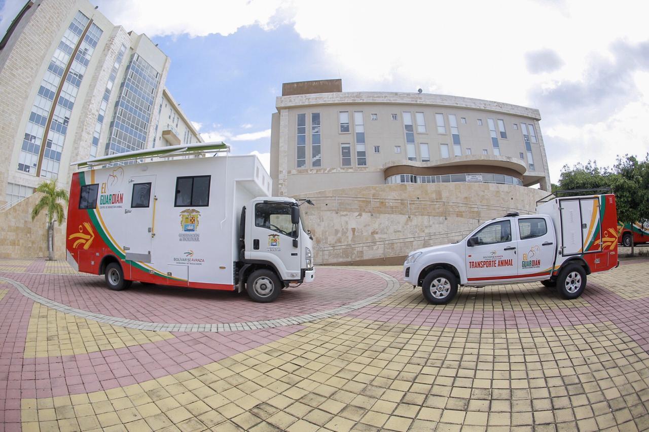 Bolivar contarà con clínica móvil veterinaria