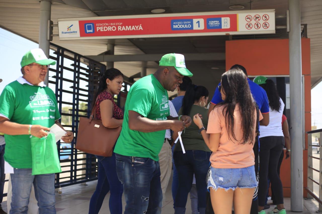 Lanzan campaña 'cero basuras a las calles de Soledad'