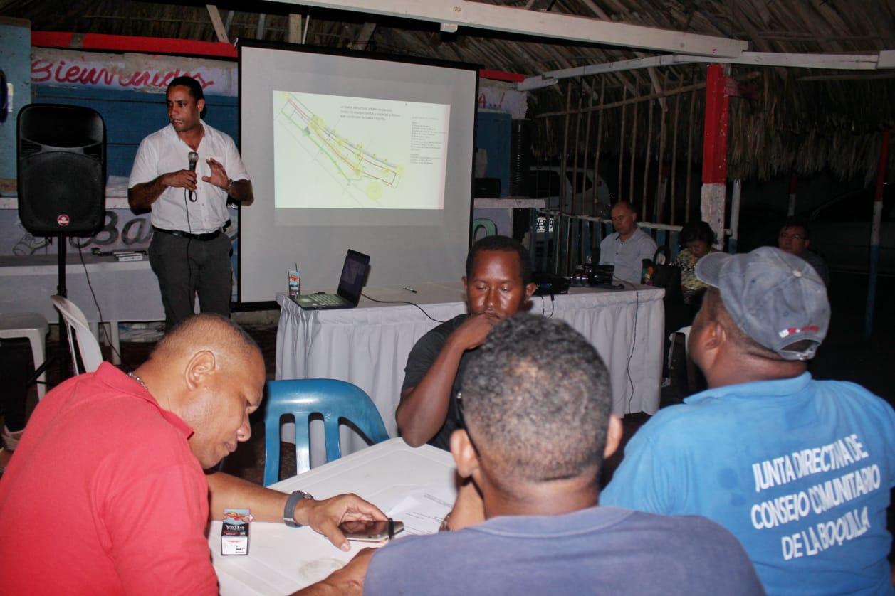 En Cartagena Alcaldía y comunidad construyen el Plan de Mejoramiento Integral