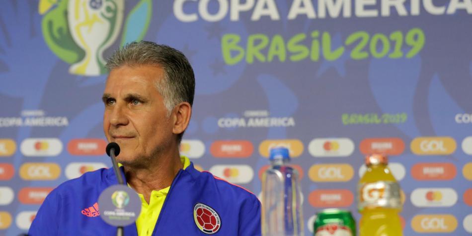 """Carlos Queiroz: """"Hay que estar muy alerta y preparados para jugar con Catar"""""""