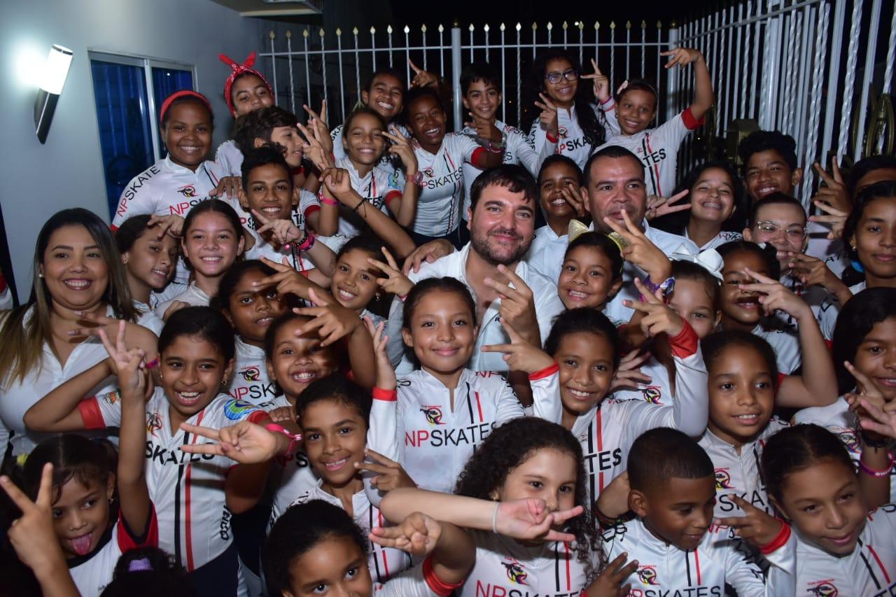 """""""Las Nieves merece una pista de patinaje"""": Jaime Pumarejo."""