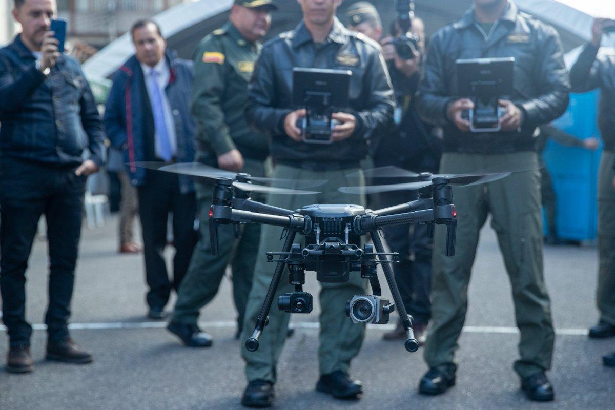 Bogotá cuenta con nuevos drones para la seguridad de sus ciudadanos