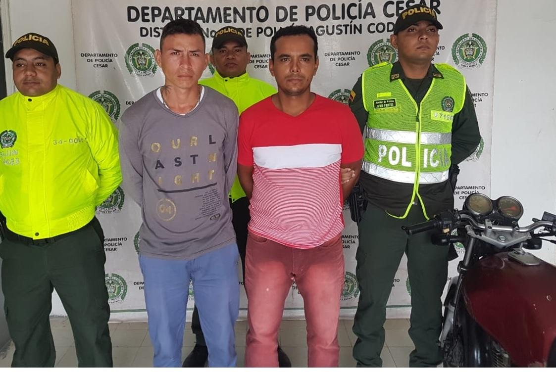 Capturados por homicidio agravado en Codazzi – Cesar