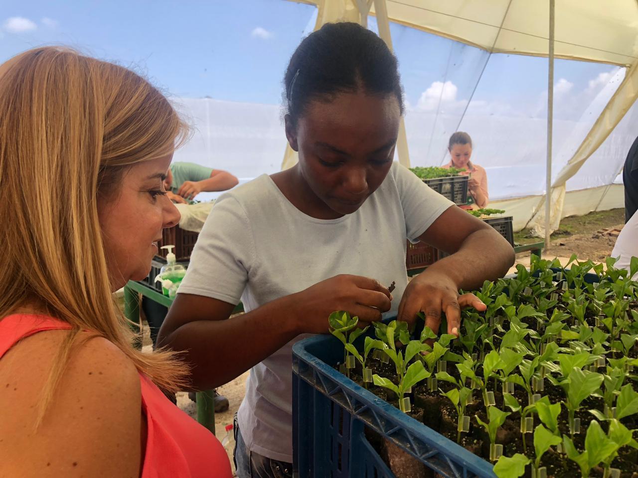 El futuro del Atlántico, está en el Agro: Elsa Noguera