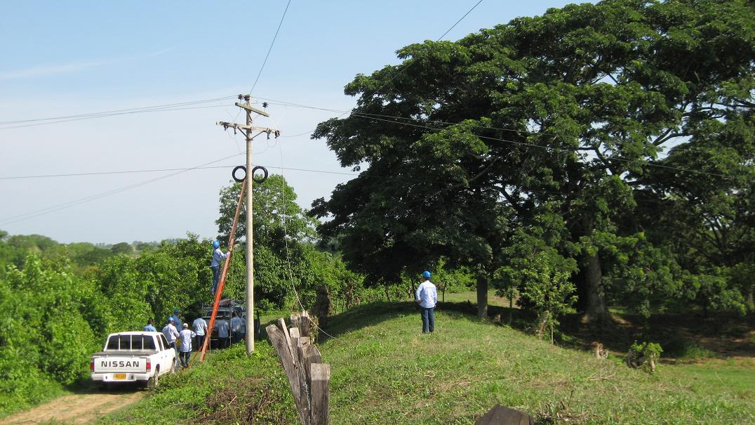 Aumentan los casos de robo de redes eléctricas en el Atlántico según @ElectricaribeSA