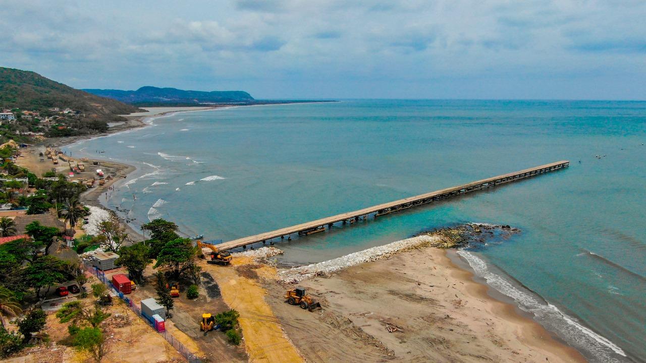 Mañana inicia demolición del muelle de Puerto Colombia