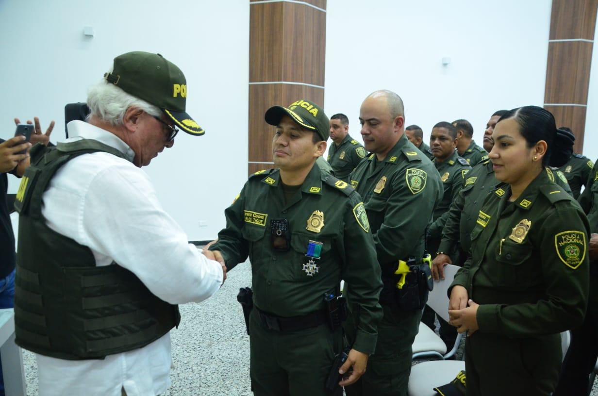 Alcaldía de Soledad sigue fortaleciendo a la Policía Nacional