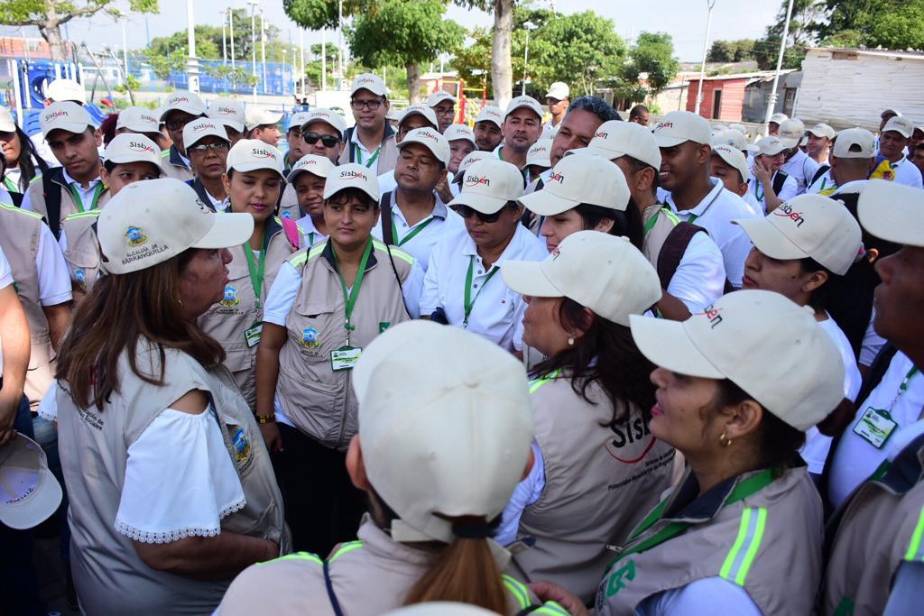 Continúa aplicación de la encuesta del Sisbén IV en Barranquilla