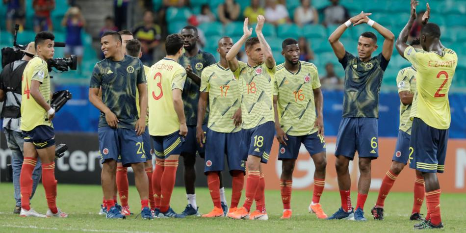 Lista de convocados Selección Colombia de mayores