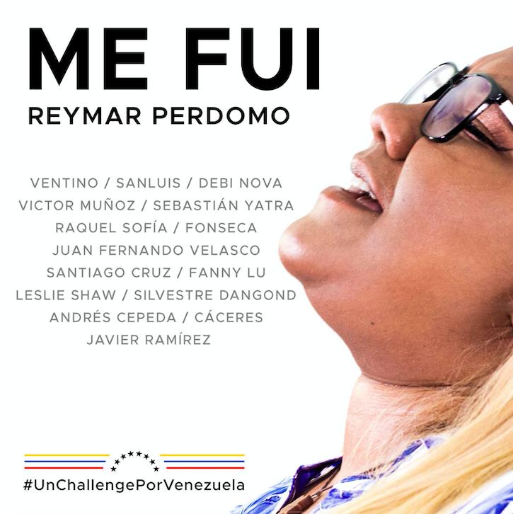 """#UnChallengePorVenezuela sorprende nuevamente a REYMAR con la grabación de su canción  """"ME FUI"""""""