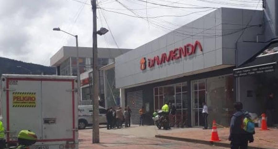 Tiroteo en intento de 'taquillazo' en Bogotá