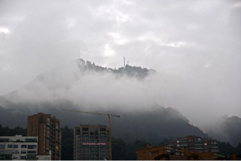 Razones de la baja temperatura en Bogotá