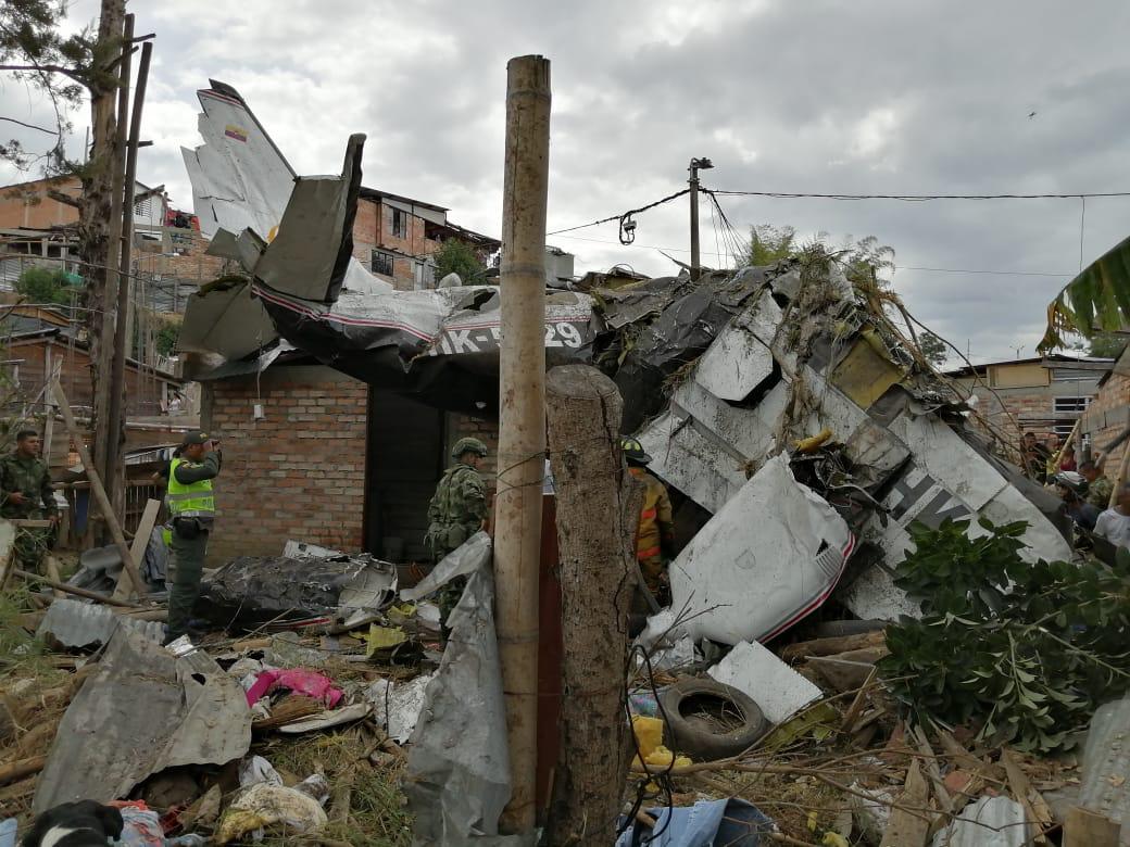 Accidente de avioneta en  Popayán deja siete muertos