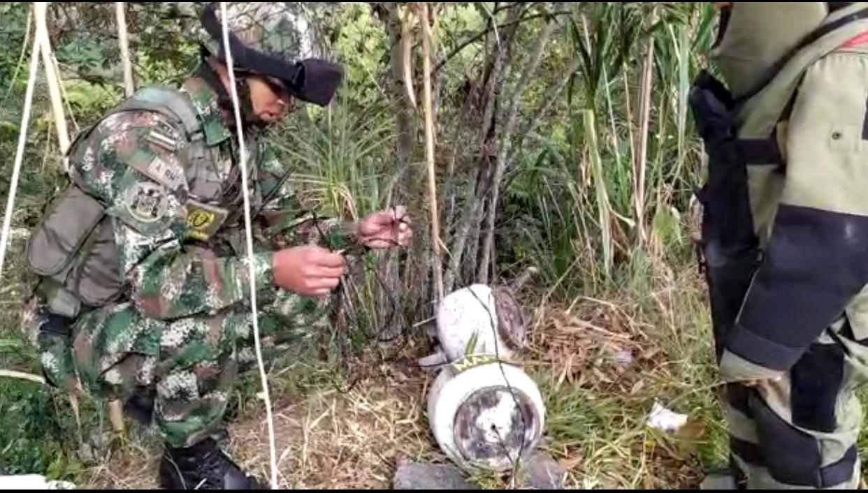 Ejército neutraliza acciones terroristas sobre la vía Panamericana