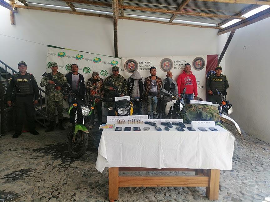 Capturados cabecillas del Clan del Golfo en Antioquia y Magdalena