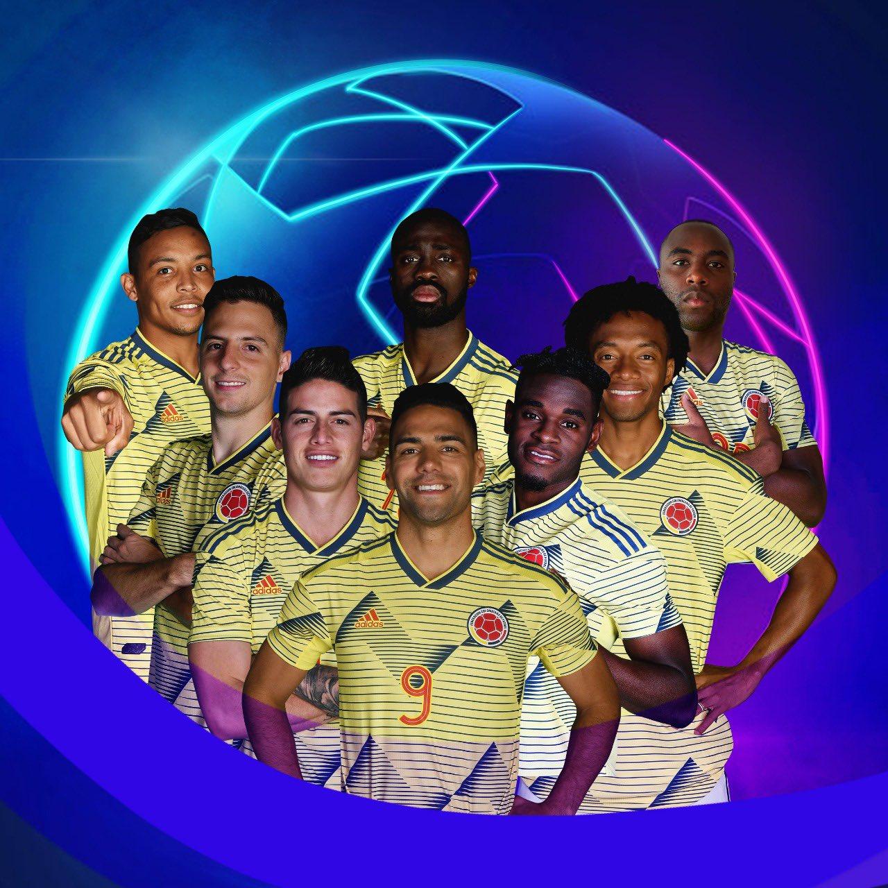 Ocho colombianos en la segunda jornada de la Champions League