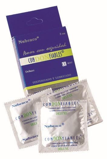 Por baja calidad preservativos Condonfiables Nubenco son retirados del mercado