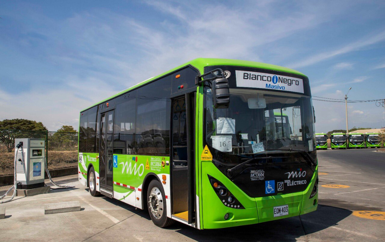 Cali se renueva y pone en operación 26 buses eléctricos