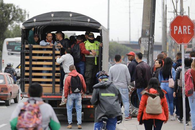 Gremio de transportadores entra en paro a nivel nacional