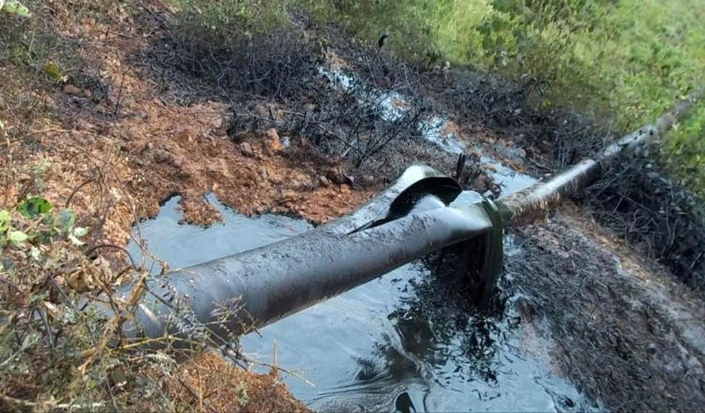 Tragedia ambiental por derrame de crudo en río Tibú