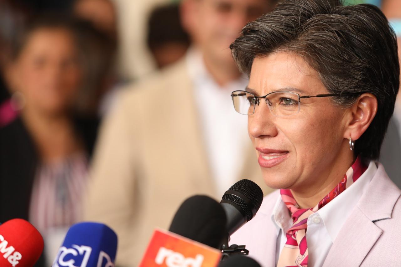 """Claudia López: """"Si no se acatan las medidas, vamos a cerrar Bogotá completamente"""""""