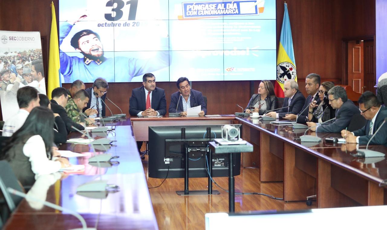 En marcha dispositivo interinstitucional para elecciones en los 116 municipios de Cundinamarca