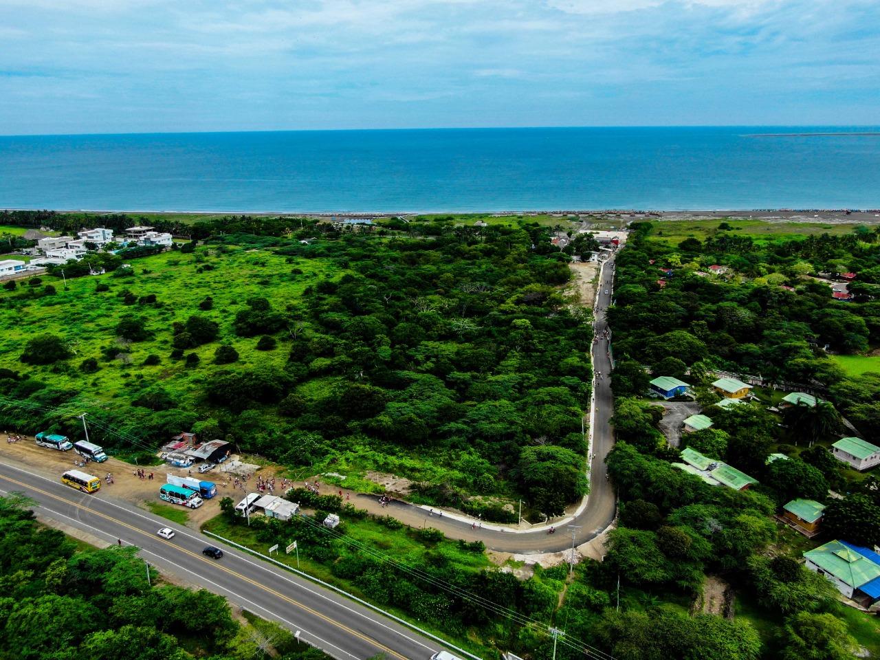 Gobernación pondrá al servicio otra vía que conecta a Tubará con sus playas