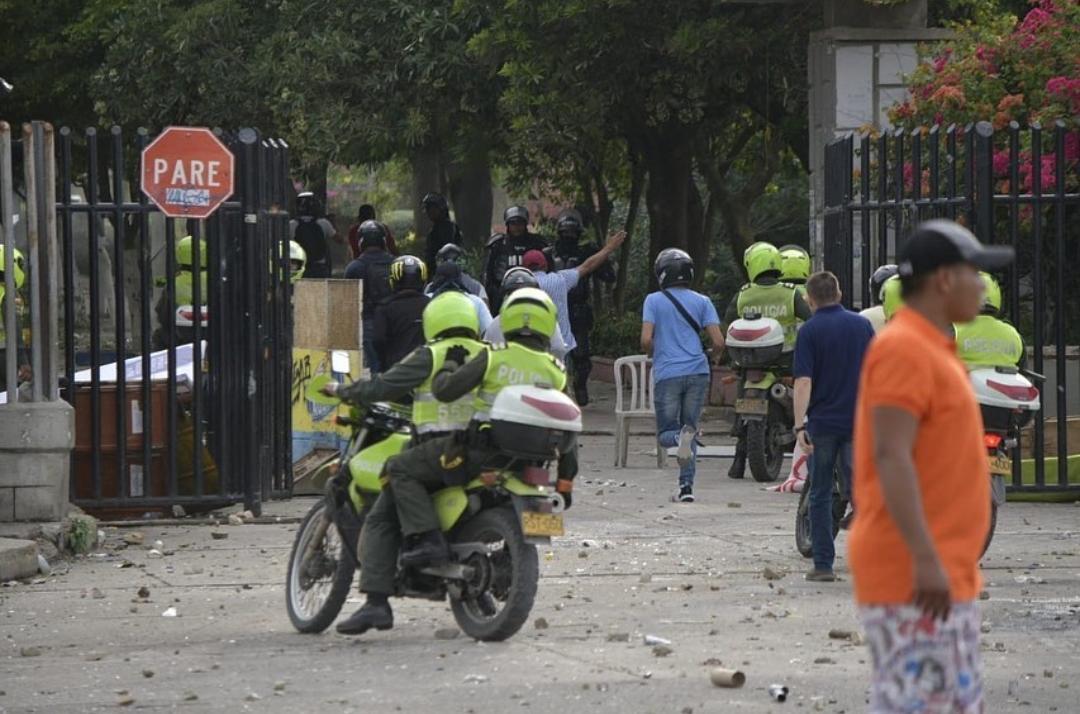 Rector Prasca ordenó ingreso del Esmad ante daños en el alma mater
