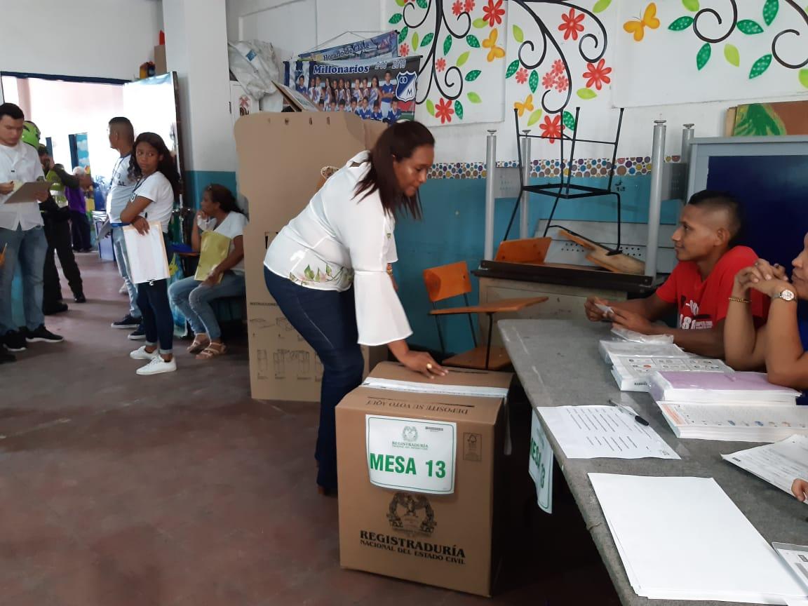 Beatriz Barraza, candidata a la alcaldía de Soledad, invita a votar libremente