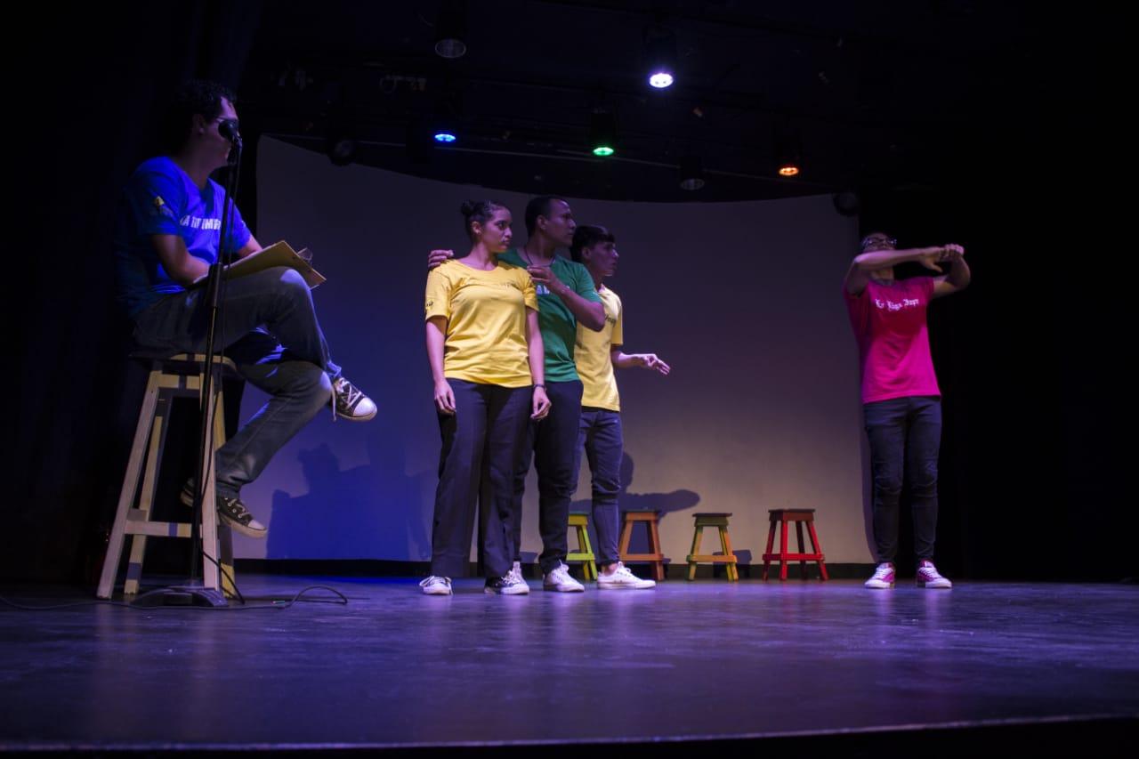 'La Liga Impro' este jueves en el Teatrino de la Galería del Mar