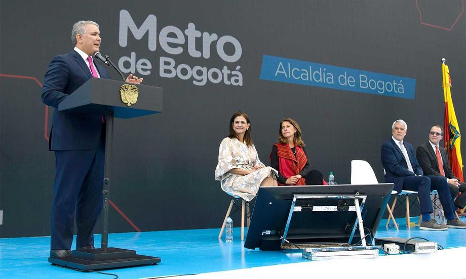 Aquí no hay carreta, acá empieza el verdadero Metro de Bogotá, anhelado por una ciudad durante décadas: Presidente Duque