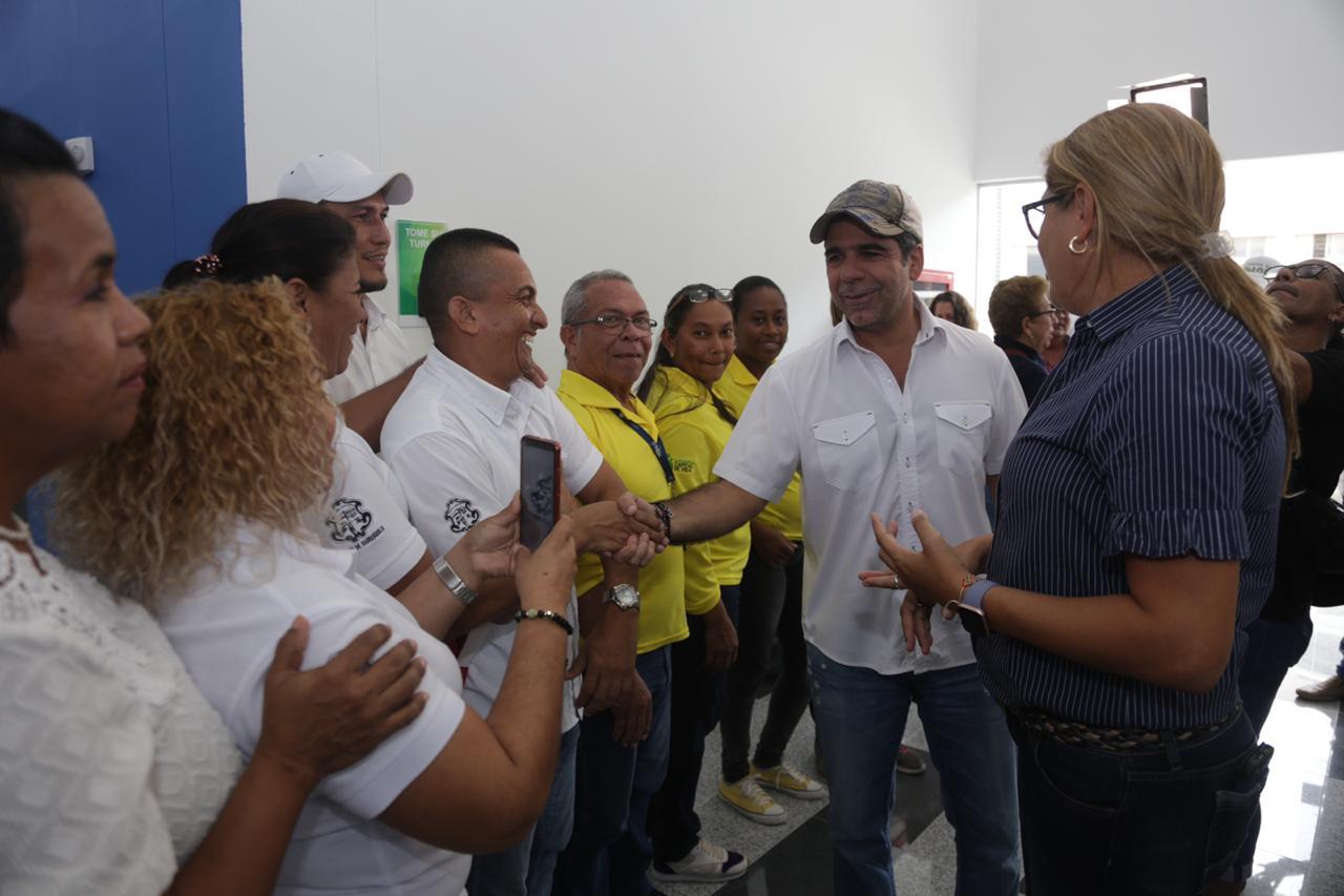 """""""28.000 barranquilleros del suroccidente se benefician con el nuevo PASO del barrio La Pradera"""": alcalde Char"""