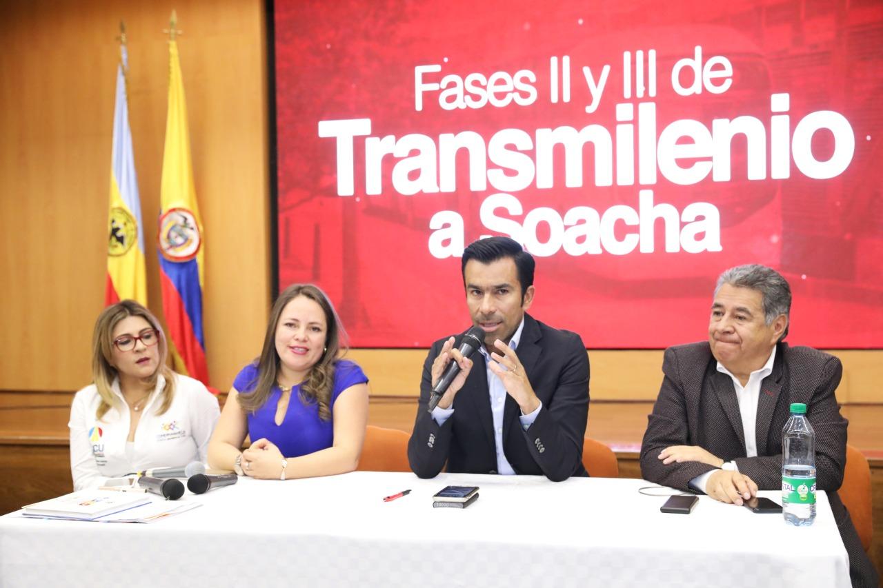 Consorcio Vial de Soacha y Conconcreto, ganadores de la licitación de las fases II y III de Transmilenio a Soacha